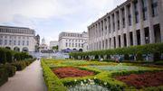 La fontaine du Mont des Arts à Bruxelles remise en service