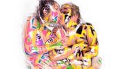L'amour selon l'artiste japonais Haruhiko Kawaguchi: tout le monde emballé sous vide