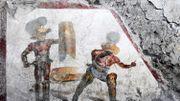 A Pompéi, un combat de gladiateurs sort de 20 siècles d'oubli