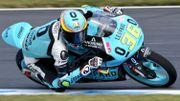 Nouvelle démonstration de Mir au Mans en Moto3, Loi 16e