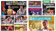 """JO Tokyo 2020 : """"HistORique"""", """"Héroïques"""", la presse belge dithyrambique après l'Or de Thiam et des Red Lions"""