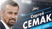 Sergey Semak à la tête du Zenit Saint-Pétersbourg