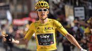 Thomas vainqueur à l'Alpe d'Huez après un final d'hommes forts