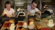 Mangez trop copieux avant le début du film se termine bien souvent en générique de fin