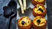 Recette : Brouillade d'œufs à la truffe