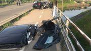 3 blessés graves dans un accident à Marchienne-au-Pont