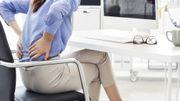 Comment se positionner correctement sur une chaise au bureau?