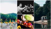 Trois adresses insolites à tester cet été: une plage à Namur, un logement en tortue et un resto dans le noir
