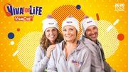 Quand Ophélie, Sara et Adrien sont-ils derrière le micro à Viva for Life ?