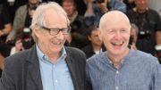 Ken Loach et son scénariste Paul Laverty