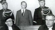 Roger Champenois lors de son procès en octobre 1965