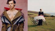 Harry Styles est le premier homme à poser en couverture de Vogue