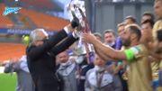 Ivanovic commet une belle bourde au moment de soulever la Coupe de Russie