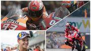 Départ retardé, 50e succès pour Marquez et les Yamaha à la traîne en Tchèquie