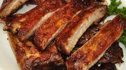 Des ribs et leur marinade faite maison! Vive l'été!