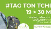 #TAG TON TCHINIS, une action visant à localiser ce qui gêne la vie des cyclistes !