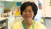 Manivone, infirmière à l'hôpital d'Etterbeek-Ixelles (Iris Sud)
