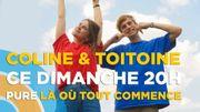 """""""Là où tout commence"""" accueillera le jeune duo bruxellois Coline & Toitoine"""