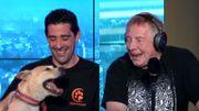 """""""Aïe Aïe Tango"""" le nouveau style de chanson pour les chiens. Jean-Luc Fonck convaincra-t-il Fiona?"""