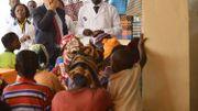 Une visite de Didier Reynders à l'hôpital du docteur Mukwege en 2012