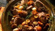 Recette : Tagine d'agneau aux mirabelles, miel et noix