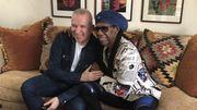Nile Rodgers, producteur et directeur musical de la revue de Jean Paul Gaultier