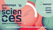 Le Printemps des Sciences est de retour à Mons ce week-end