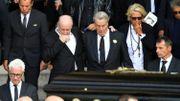 Plus d'un millier de personnes aux obsèques de Mireille Darc à Paris