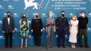 Le jury masqué de la Mostra 2020 : Nicola Lagioia, Joanna Hogg, Veronika Franz, Cate Blanchett, Matt Dillon, Ludivine Sagnier, et Christian Petzold