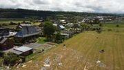 Beauraing: des images impressionnantes des dégâts de la tornade, prises par un drone
