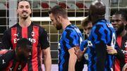 Romelu Lukaku et Zlatan Ibrahimovic suspendus un match suite à leurs cartes