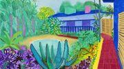 David Hockney célébré en février à Londres, avant Paris en juin