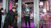 Loïc Nottet enferme Sara, Ophélie et Adrien dans le cube