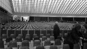 Une salle qui ressemble à un cinéma des années 60