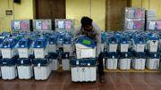 Il aura fallu 10 millions de fonctionnaire pour s'occuper de ces machines à voter.