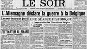 Déclaration de guerre à la Belgique