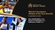 """Thiam finaliste pour décrocher le titre d'""""Athlète européenne de l'année"""""""