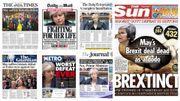 """""""Une humiliation complète"""": la presse britannique flingue May après le rejet de l'accord sur le Brexit"""