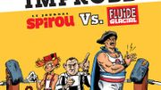 Spirou et Fluide Glacial : une lutte acharnée dans le cadre de la Fête de la BD à Bruxelles