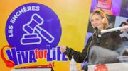 Les enchères Viva for Life rapportent 36.200€ de plus dans la cagnotte!