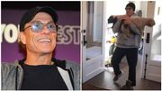 Jean-Claude Van Damme s'amuse en confinement et devient super-héros pour chiens