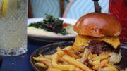 Un bel hamburger américain!