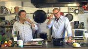 Les recettes de Gerald, les vins d'Eric : sole à l'Ostendaise