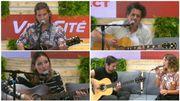 Belgofolies: découvrez Suarez, Saule, Doria D et Elia Rose en live acoustique