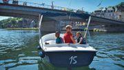 Prenez les commandes des bateaux électriques sur la Meuse