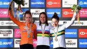 Annemiek van Vleuten a remporté la course en ligne des championnats du monde en 2019 à Harrogate.