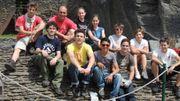 Les compagnons à la Roche-en-Ardenne