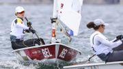 JO Tokyo 2020: Emma Plasschaert glisse de la 3e à la 5e place en Laser Radial avant la course aux médailles