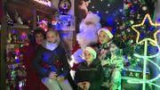 Le père Noël se repose chaque année chez Serge
