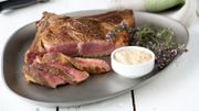 Recette : Côte de bœuf normande au gril, sauce au cidre crémée